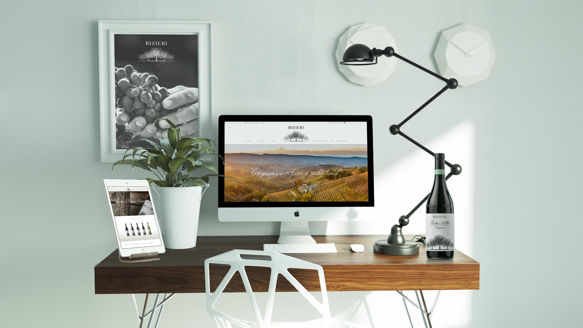 iMac Rizieri Site new - Rizieri, Sito web
