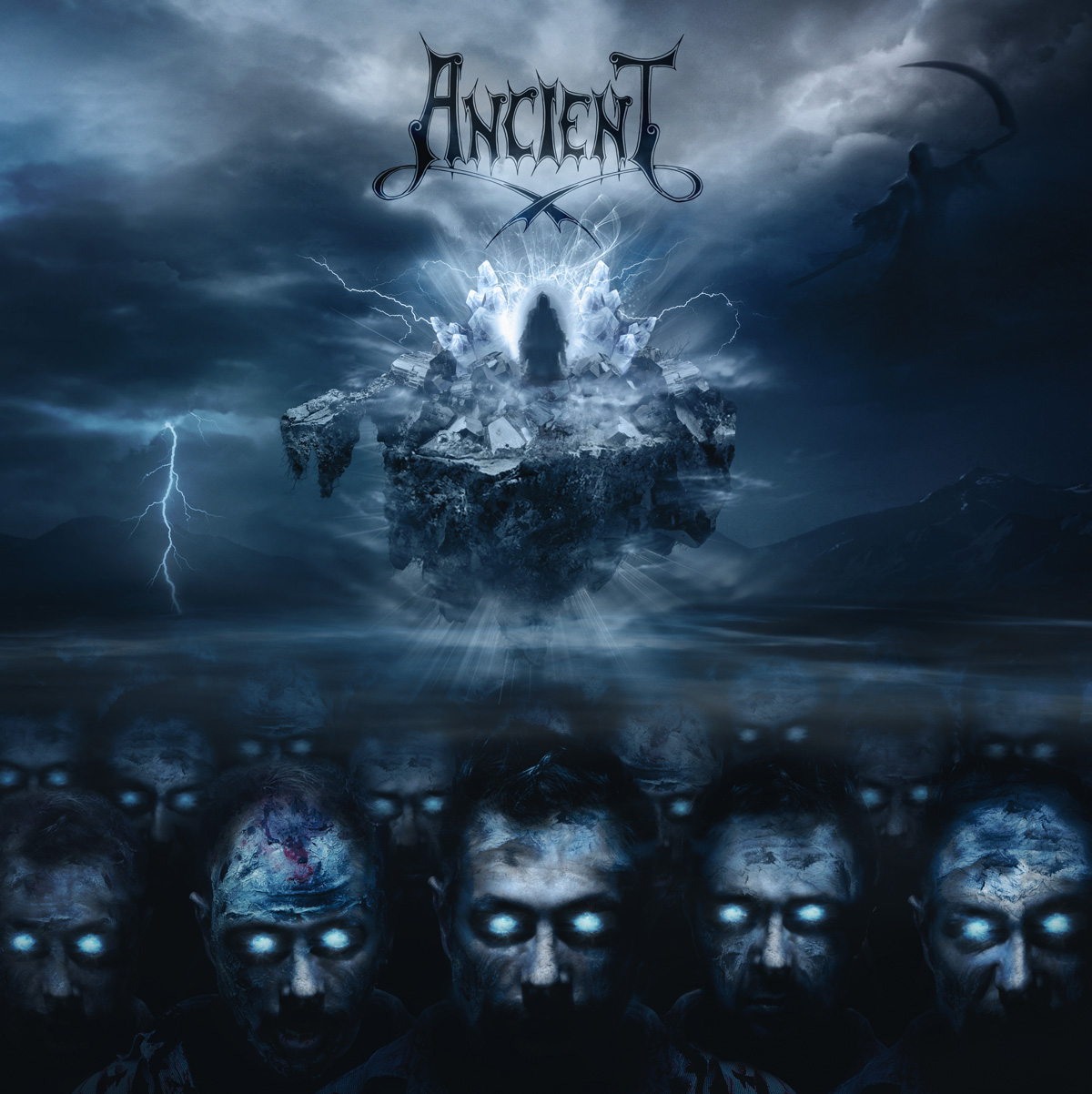 Artwork Ancient BTTLOTD cover - Ancient, Back to the Land of the Dead