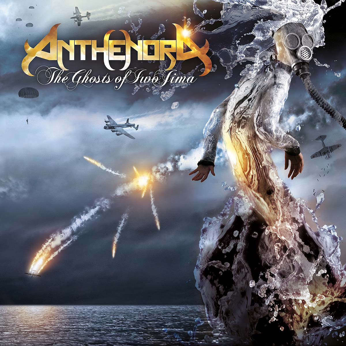 Artwork AnthenoraGhost cover - Anthenora, The Ghosts of Iwo Jima