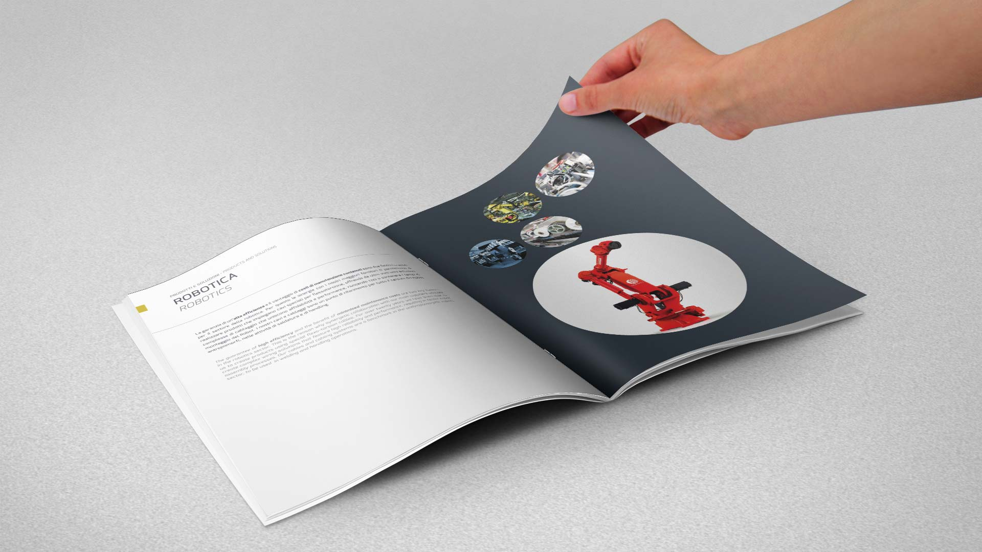 Brochure A4 HTC 3 - HTC, L'impulso dell'innovazione, Brochure
