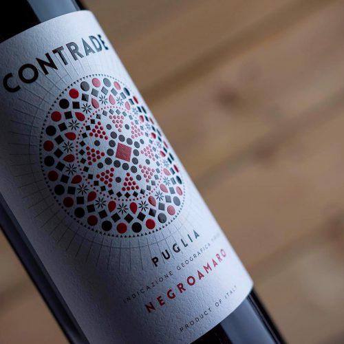 Label Design Etichette vini Contrade