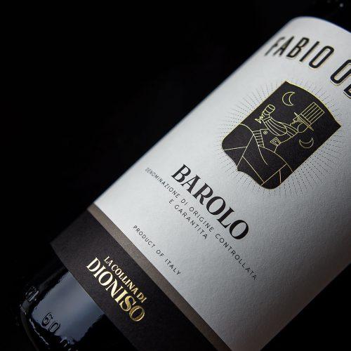Etichetta Vino & Branding La Collina di Dioniso