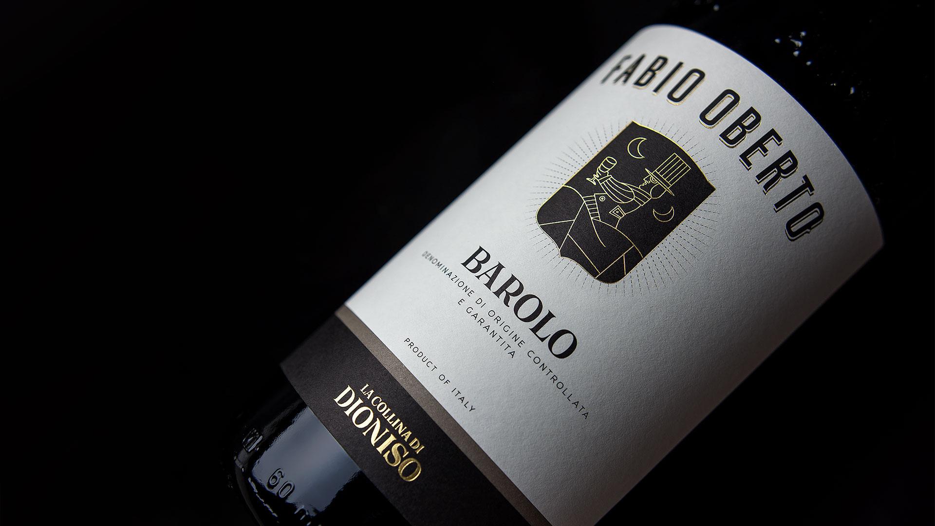 FabioOberto LaCollinaDiDioniso Barolo 1920 - Etichetta Vino & Branding La Collina di Dioniso