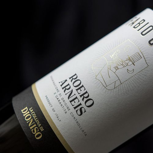 Label Design Roero Arneis La Collina di Dioniso