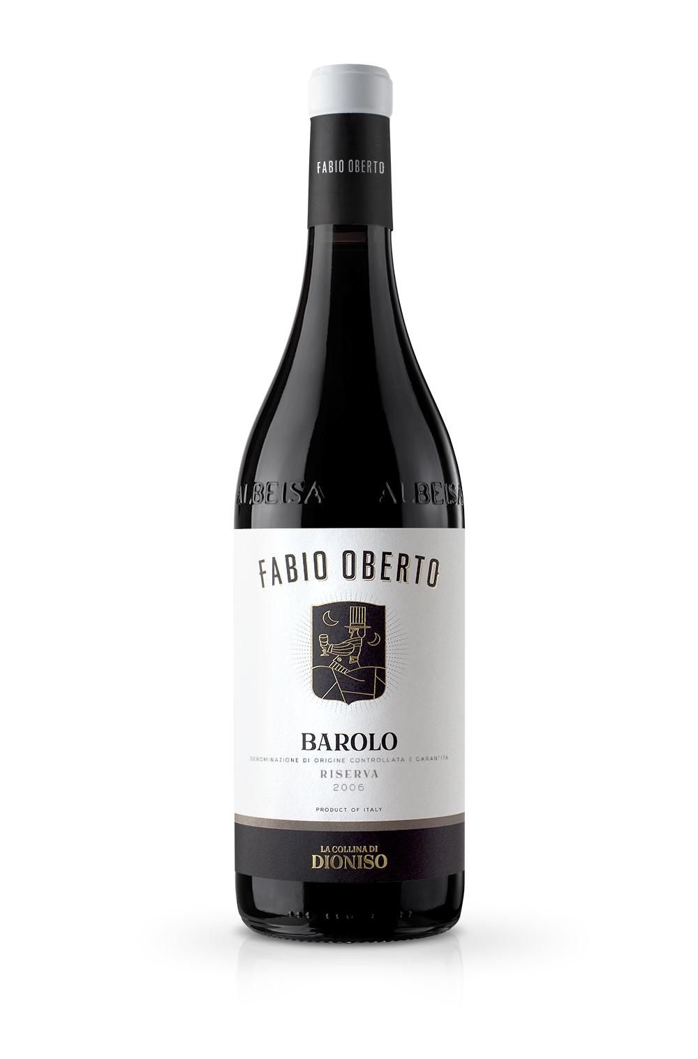 LaCollinaDiDioniso FabioOberto BaroloRiserva2006 medium - Etichetta Vino & Branding La Collina di Dioniso