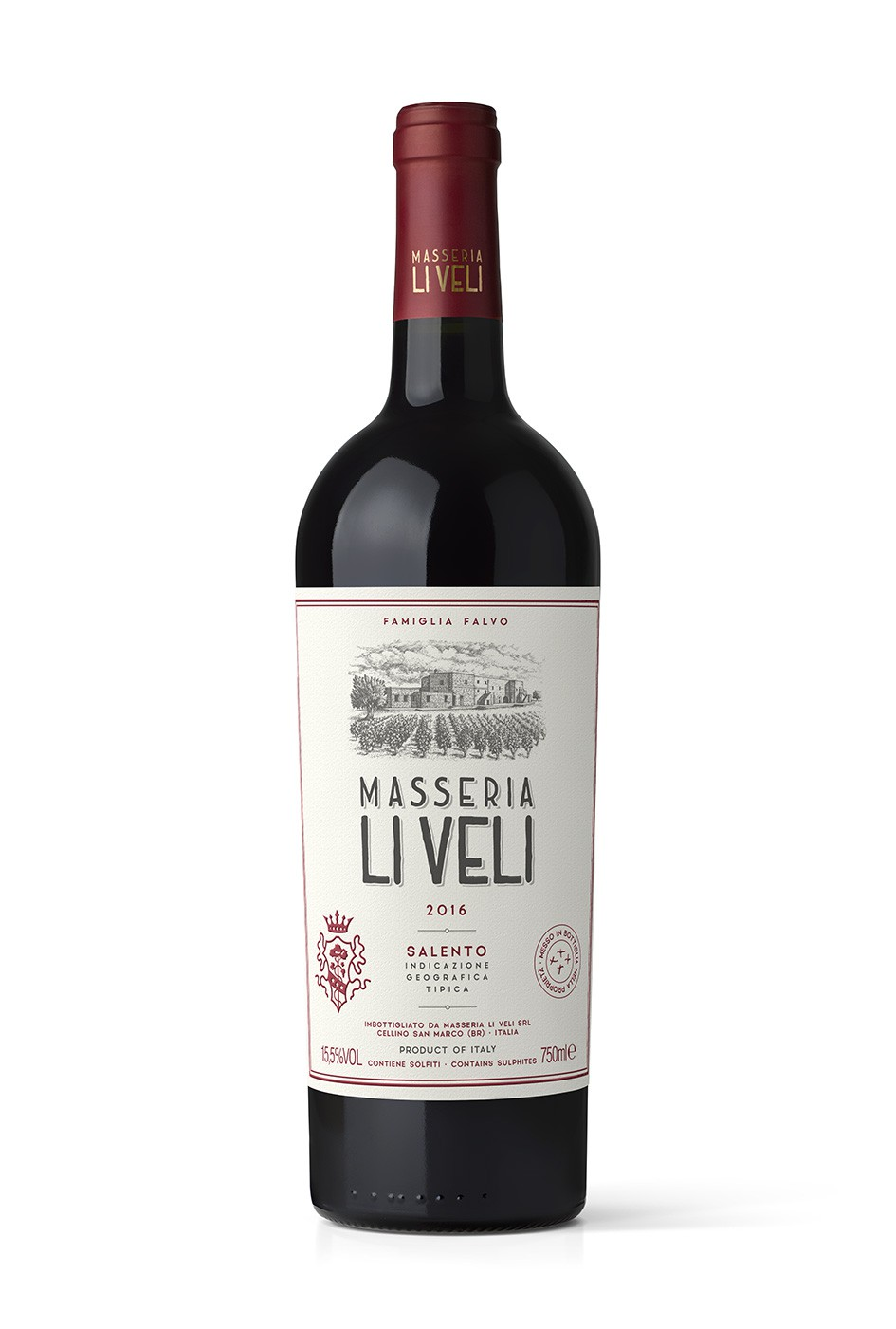 LiVeli MLV MAD13@025x - Masseria Li Veli MLV Label Design