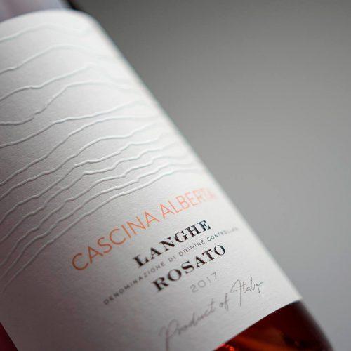 MAD13 Cascina Alberta Langhe Rosato 1920 500x500 - Wine Label Design Cascina Alberta