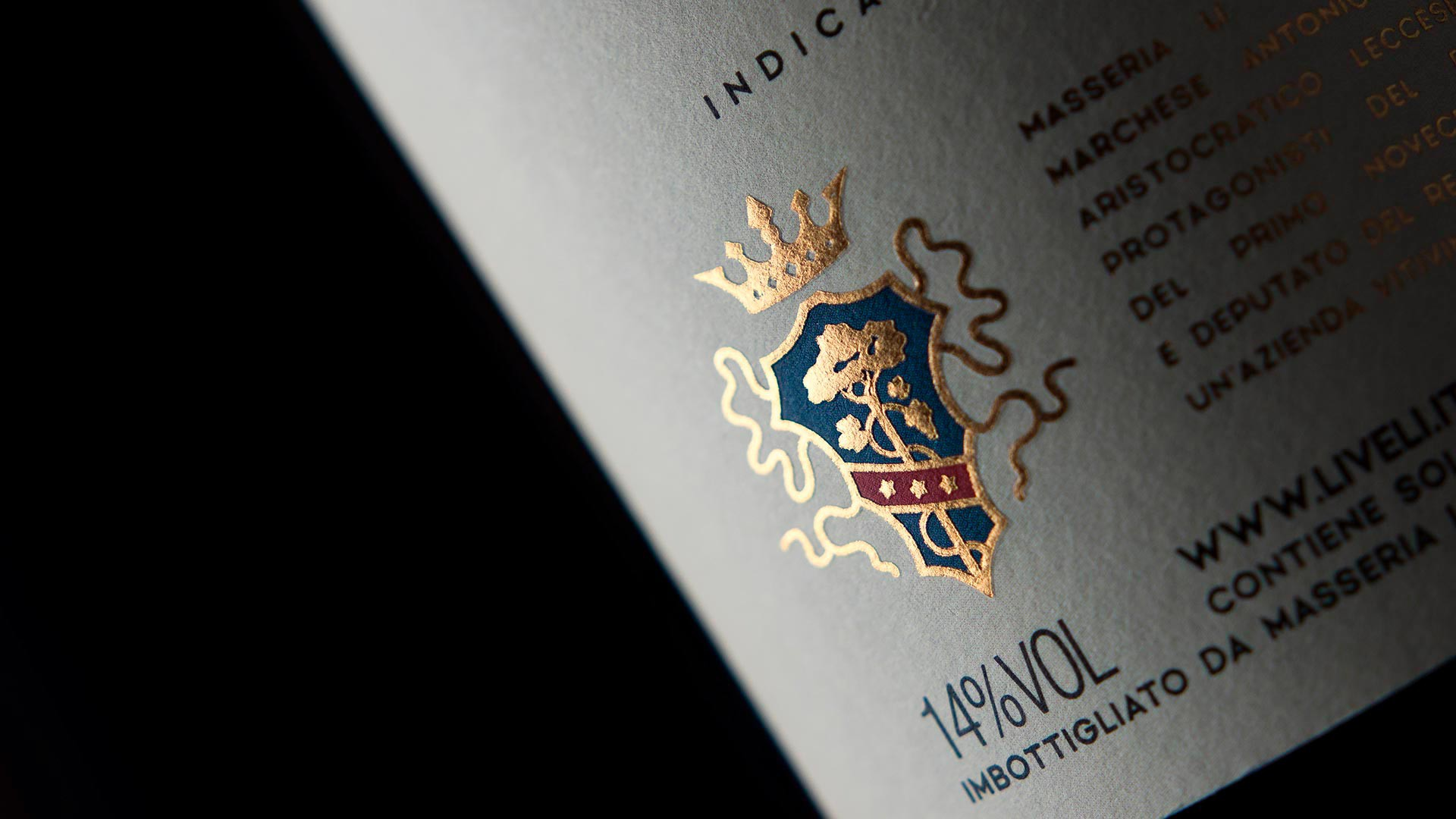 MAD13 Masseria Li Veli Orion macro 1920 - Label Design Etichette vini Masseria Li Veli