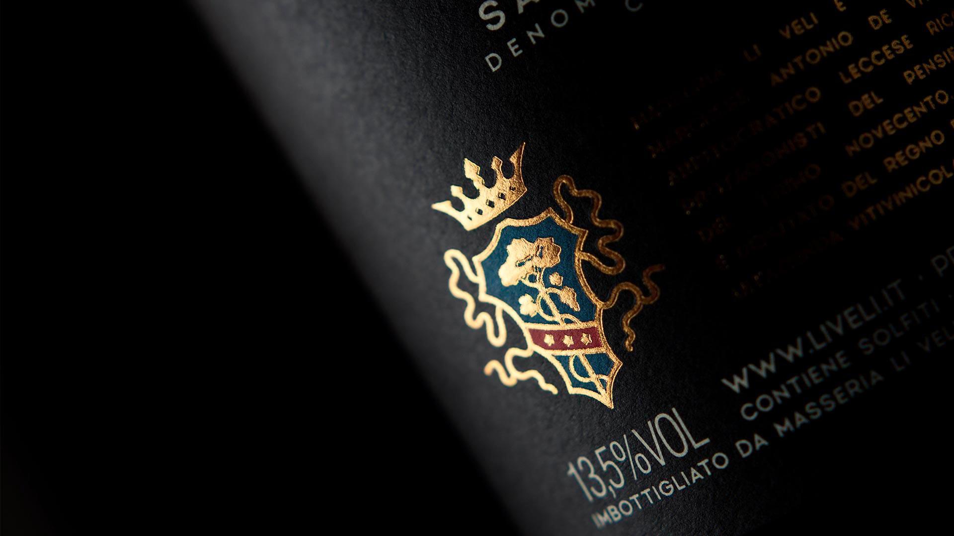 MAD13 Masseria Li Veli Passamante macro 1920 - Label Design Etichette vini Masseria Li Veli