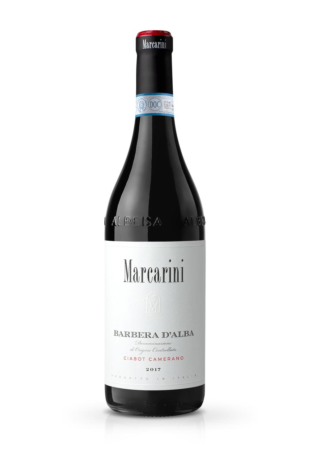 Marcarini Barbera Ciabot@ 025x - Il Design delle nuove etichette Marcarini
