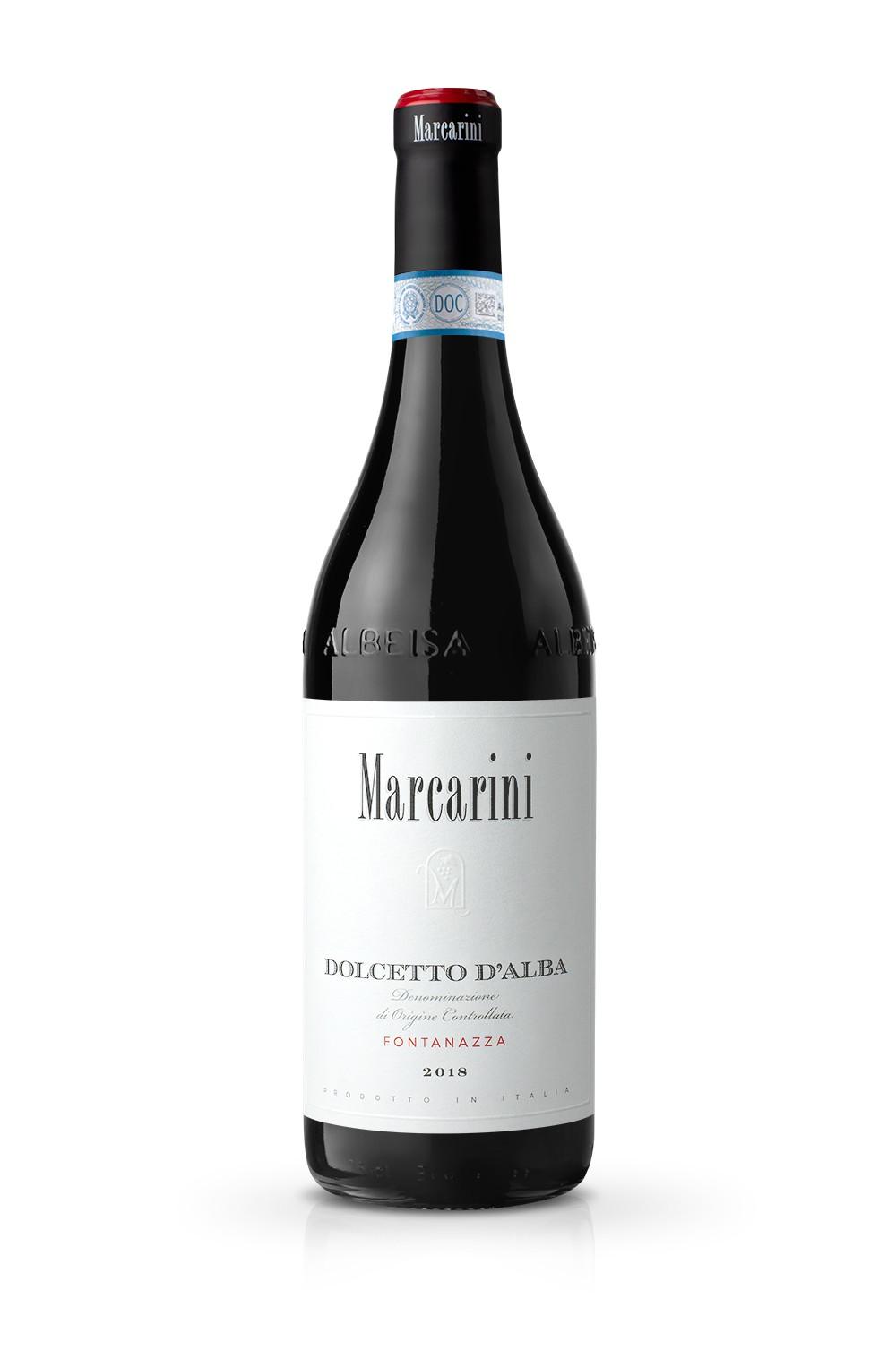 Marcarini Dolcetto Fontanazza@025x - Il Design delle nuove etichette Marcarini