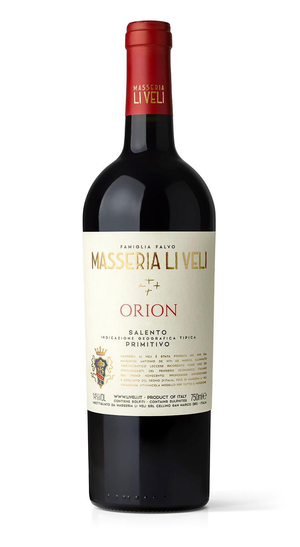 Masseria Li Veli Orion - Label Design Etichette vini Masseria Li Veli