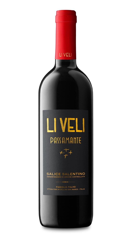 Masseria Li Veli Passamante old - Label Design Etichette vini Masseria Li Veli