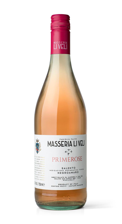 Masseria Li Veli Primerose - Label Design Etichette vini Masseria Li Veli