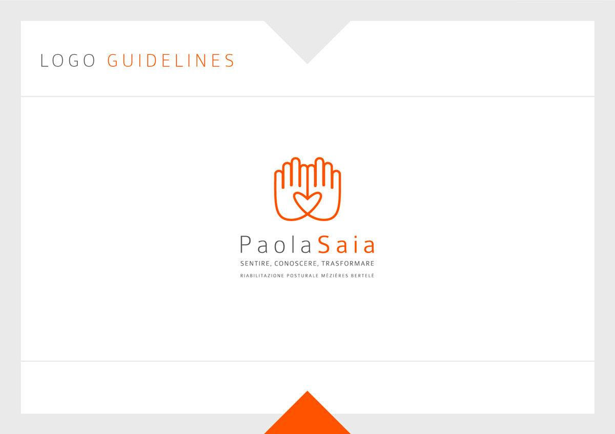 PaolaSaia Logo Guidelines 01 - Paola Saia, Logo Identity