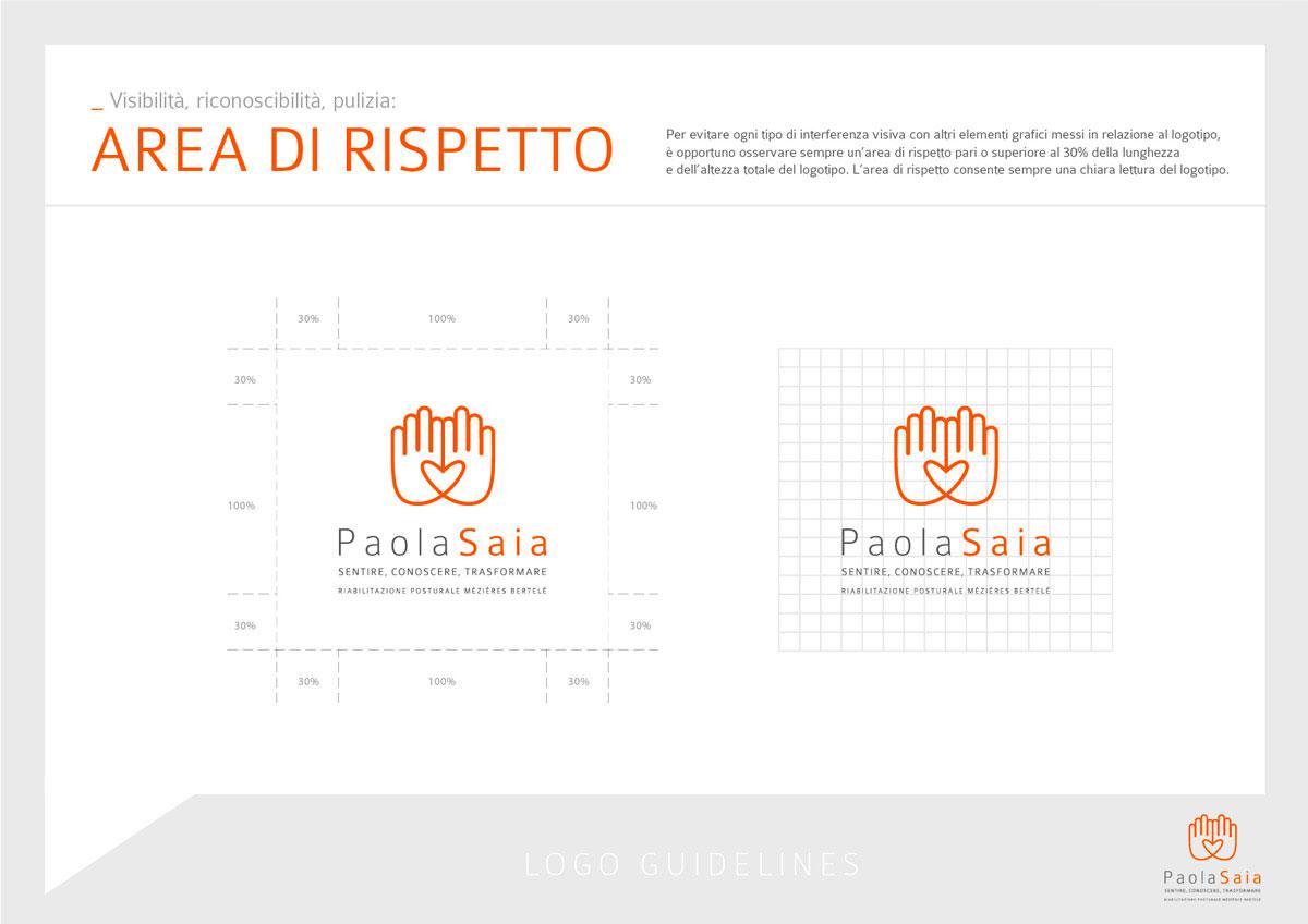 PaolaSaia Logo Guidelines 02 - Paola Saia, Logo Identity
