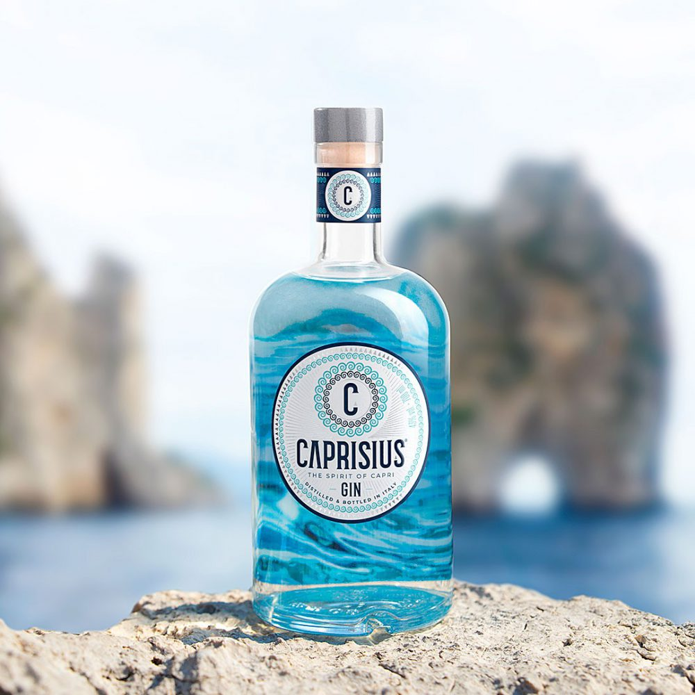 Branding & Label Design Caprisius Gin