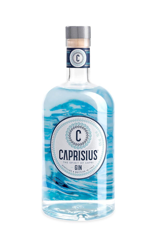 caprisius front label 1500 - Branding & Label Design Caprisius Gin
