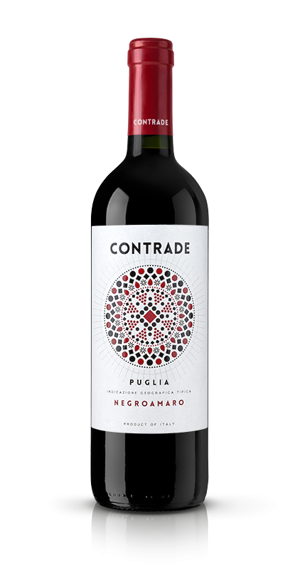 MAD13 creative room contrade-negroamaro@075x Label Design Etichette vini Contrade