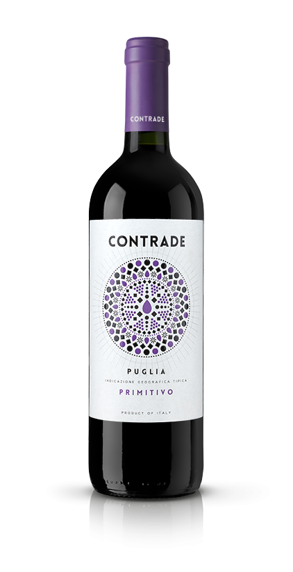 MAD13 creative room contrade-primitivo@075x Label Design Etichette vini Contrade