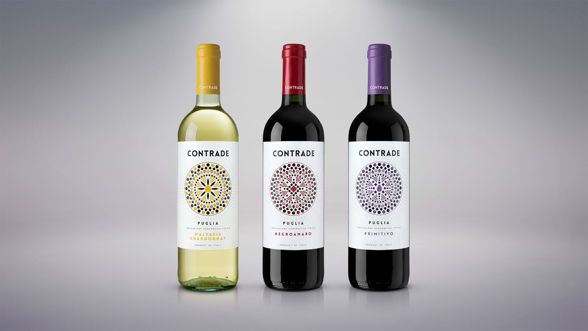 contrade wines 1920x1080 - Label Design Etichette vini Contrade