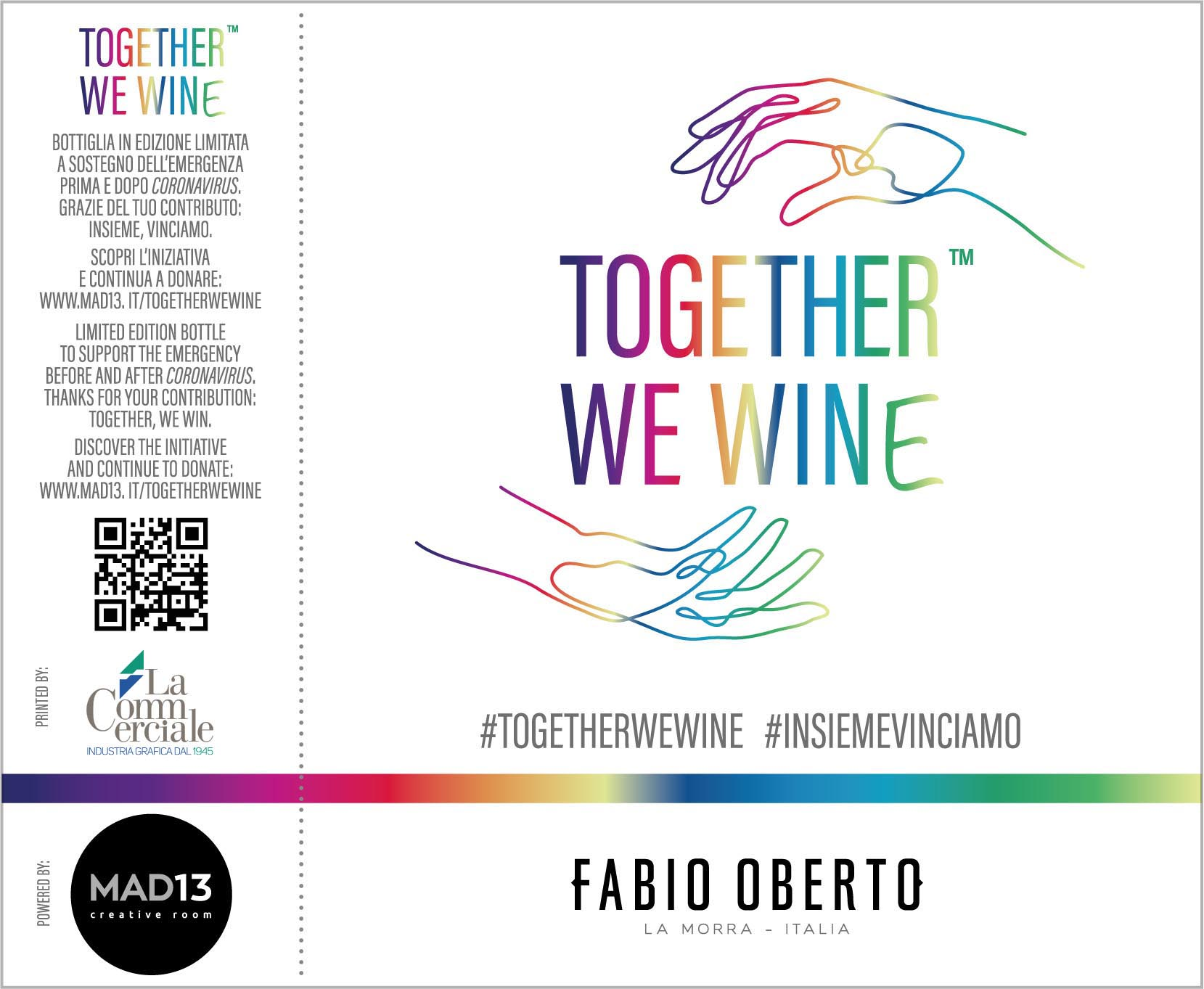 label design TogetherWeWine  - Together We Wine® en