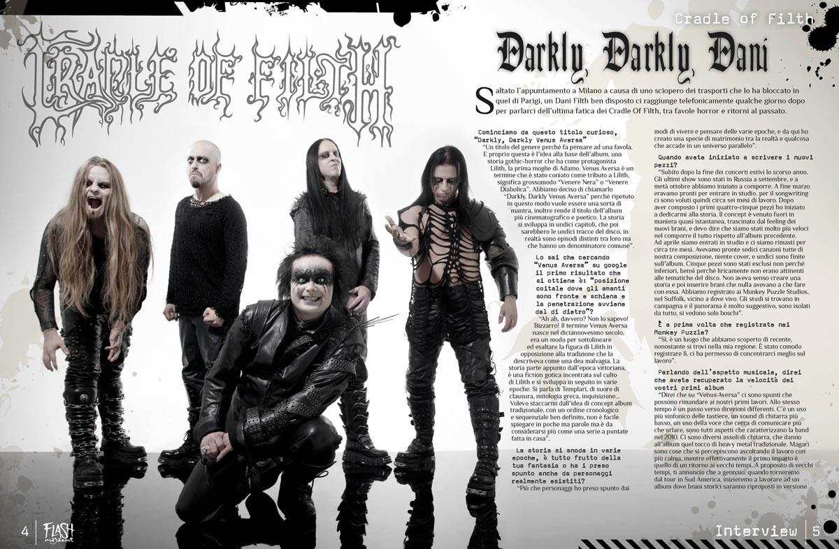 magazine flash 4 5 - Flash Magazine, sviluppo nuova linea grafica