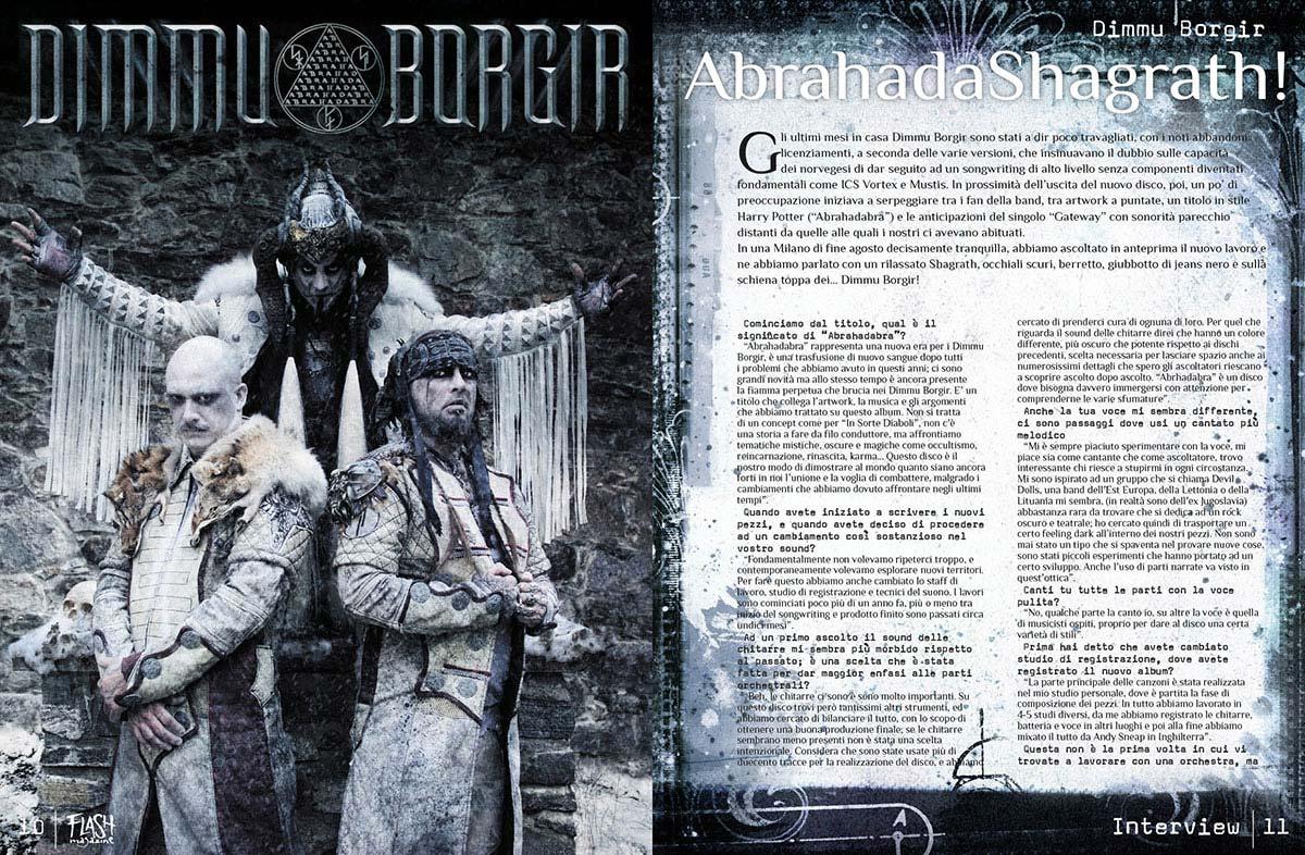 magazine flash 4 52 - Flash Magazine, sviluppo nuova linea grafica