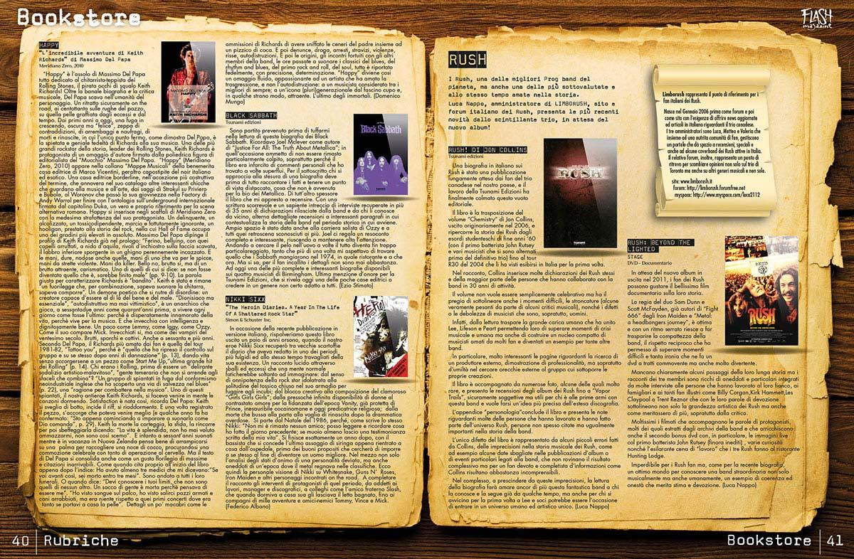 magazine flash 4 55 - Flash Magazine, sviluppo nuova linea grafica
